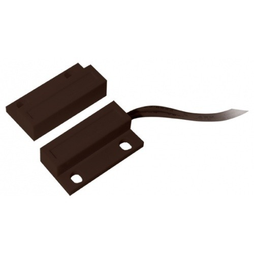 Nyitásérzékelő AT09 felületre szerelhető vagy ragasztható (barna)