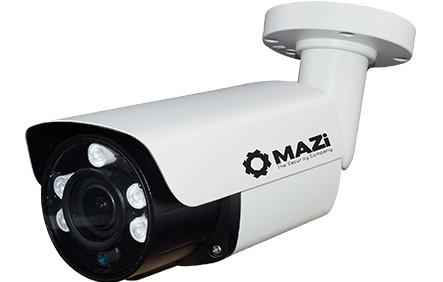 MAZi TWN 23SMVR 4in1 kivitel (TVI/CVI/AHD/CVBS) jelváltási lehetőség, 2MP HD Kültéri IR cső 2,8-12mm, 5db power IR led
