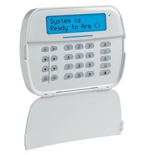 DSC HS2LCDWFP8E1 Vezeték nélküli, 868MHz kezelő, 2 irányú kommunikáció, proxy olvasó, NEO sorozathoz