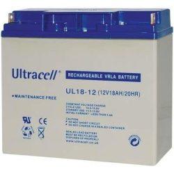 Ultracell akkumulátor 12V 18Ah