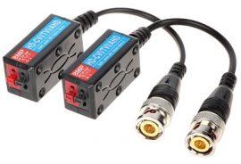 Video Balun HD ATR-1D-HD-P2L; (HD-TVI, AHD, HD-CVI, CVBS) 2db/csomag, 8MP