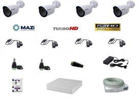 MAZi 4 compact kamerás szett Full HD (1920x1080)