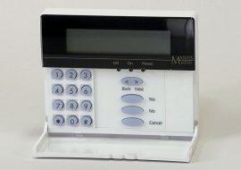 DSC LCD6501 Maxsys LCD kezelő
