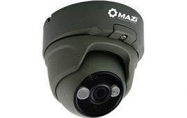 MAZi TVN-21SMIR4B 4in1 kivitel (TVI/CVI/AHD/CVBS) jelváltási lehetőség, 2MP HD Kültéri IR dome 2,8mm, Power IR Led