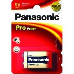 Panasonic PRO POWER 9V, 6LR61, alkáli elem