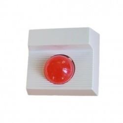 Jumbo LED dióda és buzzer, piros