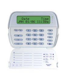 DSC PK5500 LCD kezelő