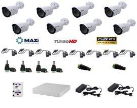 MAZi 8 compact kamerás szett Full HD (1920x1080)