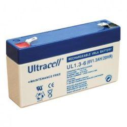 Ultracell akkumulátor 6V 1,3Ah