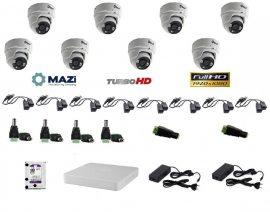 MAZi 8 Dome kamerás szett Full HD (1920x1080)