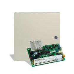 DSC PC585 Központ PC1555RKZ kezelővel, fémdobozzal