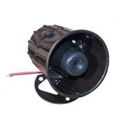 Beltéri műanyag házas hangjelző, állítható szerelőlappal SZ3