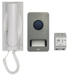 Urmet 1 lakásos audio kaputelefon készlet, Mikra táblával, Miro készülékkel, 4+n,1122-601