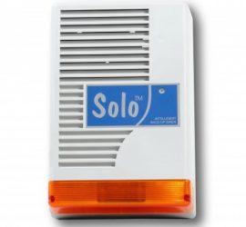 Solo kültéri hang-fényjelző (doboz, elektronika nélkül)