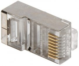 RJ45 csatlakozó UTP CAT6 kábelhez