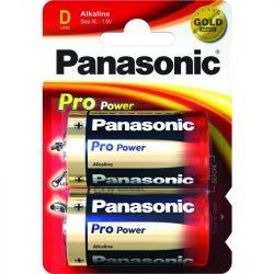 Panasonic LR20 (Góliát) alkáli elem, 1,5V, 2db/csomag