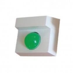 Jumbo LED dióda és buzzer, zöld