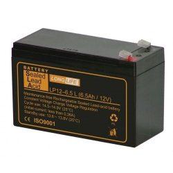 S.L.A.  akkumulátor 12V 6,5Ah long-life