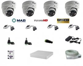 MAZi 4 Dome kamerás szett Full HD (1920x1080)