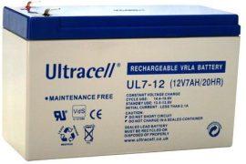 Ultracell akkumulátor 12V 7Ah