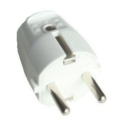 Szerelhető csatlakozó dugó, 250 V, 10/16 A