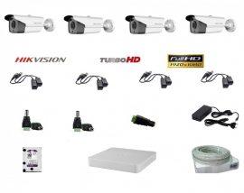 Hikvision 4 compact kamerás szett Full HD (1920x1080)