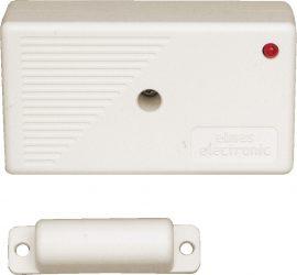 Elmes CTX3H mini rádiós nyitásérzékelő, fehér, 50m hatótávolság