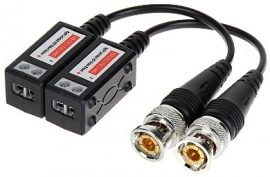 Video Balun ATR-1D-UHDL;(HD-TVI, AHD, HD-CVI, CVBS) 2db/csomag
