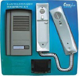 CODEfon CF 0050 audio kaputelefon 1 lakásos  1+n vezetékes rendszer