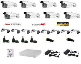 Hikvision 8 compact kamerás szett Full HD (1920x1080)