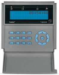 Satel ACCO-KLCDR-BG LCD kezelő, beépített kártyaolvasóval
