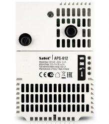 Satel APS-612 Kapcsolóüzemű tápegység SATEL dobozokba vagy DIN sínre, 12 VDC/3+3 A, dedikált Satel csatlakozó, G3