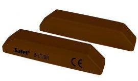 Satel B-1T BR Mágneses nyitásérzékelő, felületre szerelhető, csavarkötéses, barna