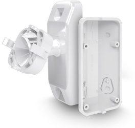 Satel BRACKET C Gömbcsuklós tartó OPAL, OPAL Plus és AOD-200 kültéri érzékelőhöz, fehér