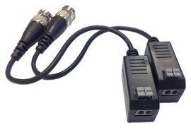 Hikvision DS-1H18S Csavart érpáras adó-vevő, THD, párban, hosszú kábellel, PoC eszközökkel használható