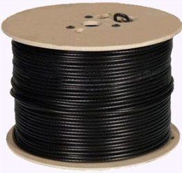 Hikvision DS-1LC1SCA2C-200B Koaxiális kábel RG59 + 2 db ér a tápfeszültség átviteléhez, 200 m kiszerelésben