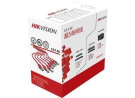 Hikvision DS-1LN5E-S UTP fali kábel, cat5e, 305 fm, dobozos kiszerelés, 0,5 mm rézmag