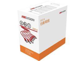Hikvision DS-1LN6-UU UTP fali kábel, cat6, 305 fm, dobozos kiszerelés, 0,565 mm rézmag