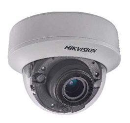 Hikvision DS-2CC52D9T-AITZE (2.8-12mm) 2 MP THD WDR motoros zoom EXIR dómkamera, OSD menüvel, PoC