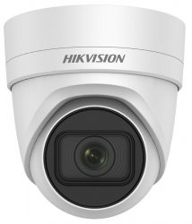 Hikvision DS-2CD2H23G0-IZS (2.8-12mm) 2 MP WDR motoros zoom EXIR IP dómkamera, hang be- és kimenet