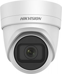 Hikvision DS-2CD2H25FWD-IZS (2.8-12mm) 2 MP WDR motoros zoom EXIR IP dómkamera, hang be- és kimenet