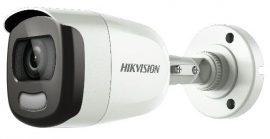 Hikvision DS-2CE10DFT-F (3.6mm) 2 MP ColorVu THD WDR fix csőkamera, OSD menüvel