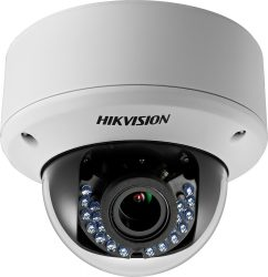 Hikvision DS-2CE56D0T-VPIR3E (2.8-12mm) 2 MP THD varifokális IR dómkamera, PoC