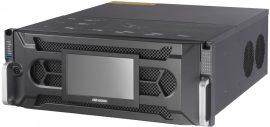 Hikvision DS-96128NI-I24/H 128 csatornás NVR, 768/512 Mbps be-/kimeneti sávszélesség, riasztás be-/kimenet, +6×HDMI(4K) kimenet