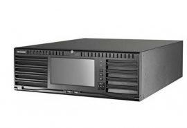 Hikvision DS-96256NI-I24/H 256 csatornás NVR, 768/768 Mbps be-/kimeneti sávszélesség, riasztás be-/kimenet, +6×HDMI(4K) kimenet