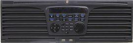 Hikvision DS-9664NI-I16 64 csatornás NVR, 320/256 (RAID: 200/200) Mbps be-/kimeneti sávszélesség, riasztás be-/kimenet