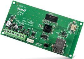 Satel ETHM-1 PLUS Ethernet modul INTEGRA, INTEGRA Plus és VERSA riasztóközpontokhoz
