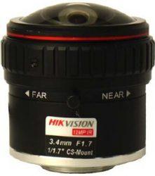 Hikvision HF3417D-12MPIR 12 MP 3.4 mm objektív, CS 1/1.7, IR-korrigált