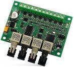 Satel INT-FI Optikai kábel interfész INTEGRA és ACCO rendszerekhez