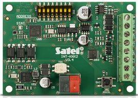 Satel INT-KNX-2 Integrációs egység, INTEGRA központ és KNX automatizálási rendszer illesztéséhez